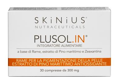 Skinius Plusol In 30 Compresse