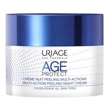 Uriage Laboratoires Dermatolog Age Protect Crema Notte Peeling Multi Azione 50 M