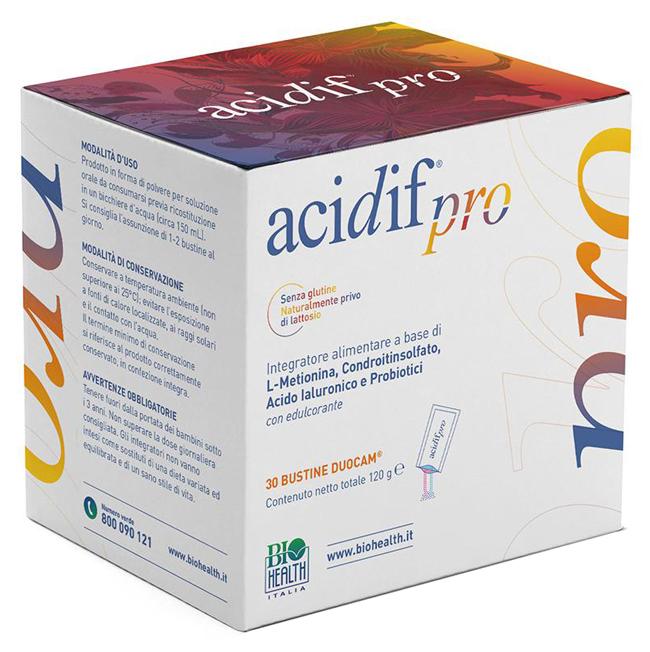 Biohealth Italia Acidif Pro 30 Bustine