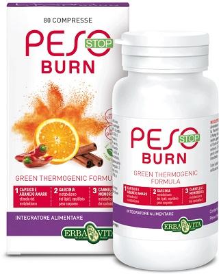 Erba Vita Group Peso Stop Burn 80 Compresse