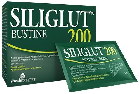 Shedir Pharma  Unipersonale Siliglut 200 20 Bustine In Astuccio 60 G