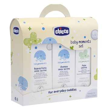 Chicco Set Bagno Shampoo   Pasta Protettiva