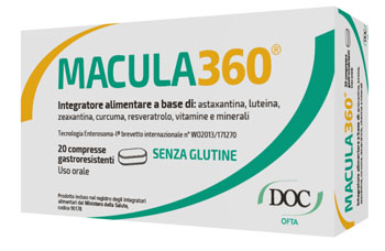 Doc Generici Macula360 20 Compresse Gastroresistenti