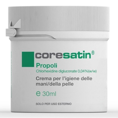 Coresatin Propoli Crema Per L igiene Di Mani E Pelle 30 Ml