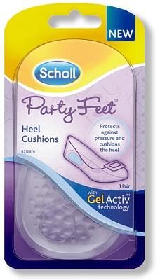 Plantare Ortopedico Scholl Party Feet Gel Active Tallone
