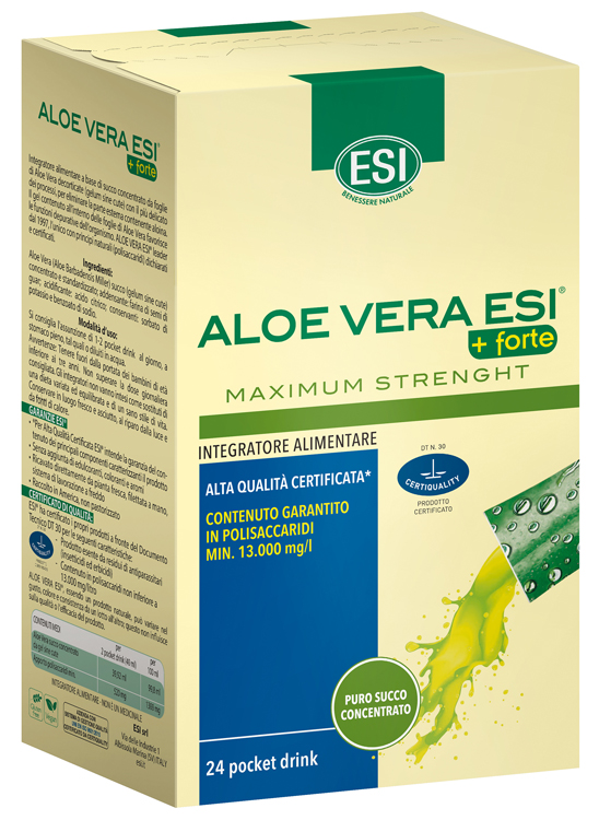Esi Aloe Vera Succo   Forte 24 Pocket Drink