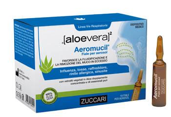 Zuccari Aloevera2 Aeromucil 10 Fiale 5 Ml