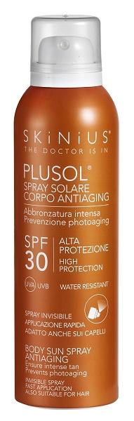 Skinius Plusol Spray Solare Corpo Spf 30 150 ml