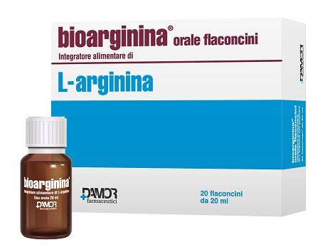 Farmaceutici Damor Bioarginina Orale 20 Flaconcini 20 Ml