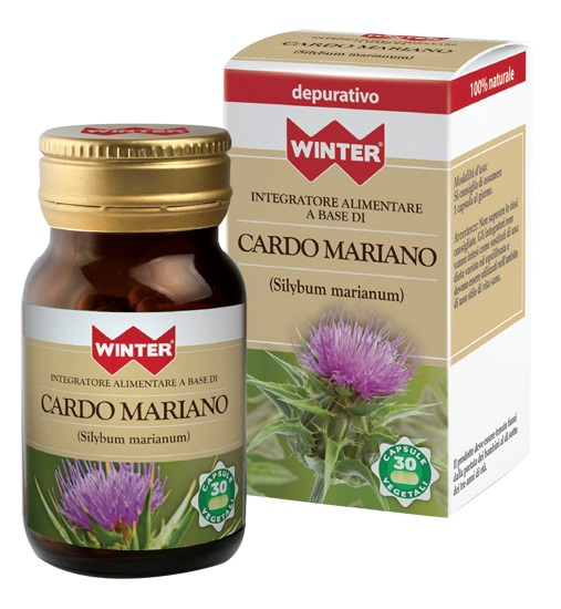 Gdp  general Dietet.pharma Winter Cardo Mariano 30 Capsule Vegetali