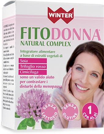 Gdp  general Dietet.pharma Winter Fitodonna Natural Complex 32 Compresse