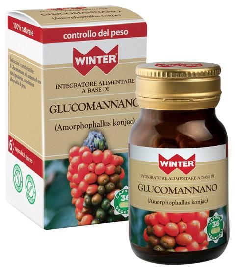 Gdp  general Dietet.pharma Winter Glucomannano 36 Capsule Vegetali