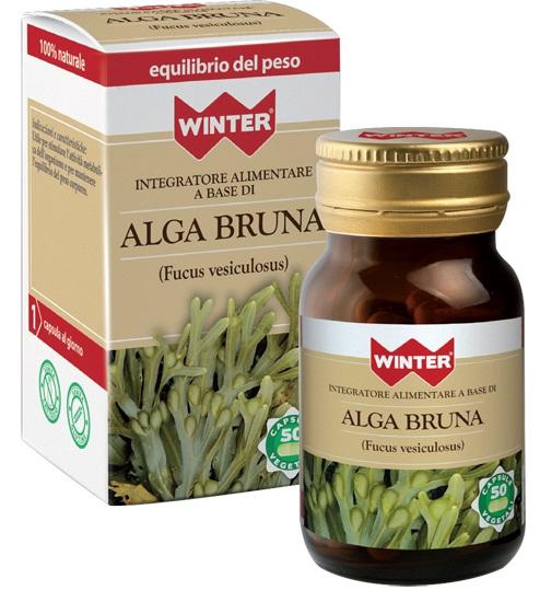 Gdp  general Dietet.pharma Winter Alga Bruna 50 Capsule Vegetali