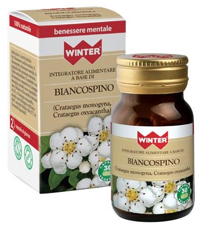 Gdp  general Dietet.pharma Winter Biancospino Bio 30 Capsule Vegetali