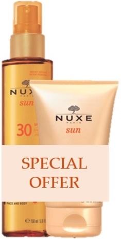 Nuxe Sun Duo Huile Bronzelait