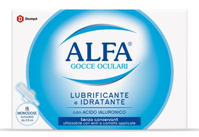 Dompe   Farmaceutici Alfa Lubrificante Monodose 15 Fiale 0 5 Ml