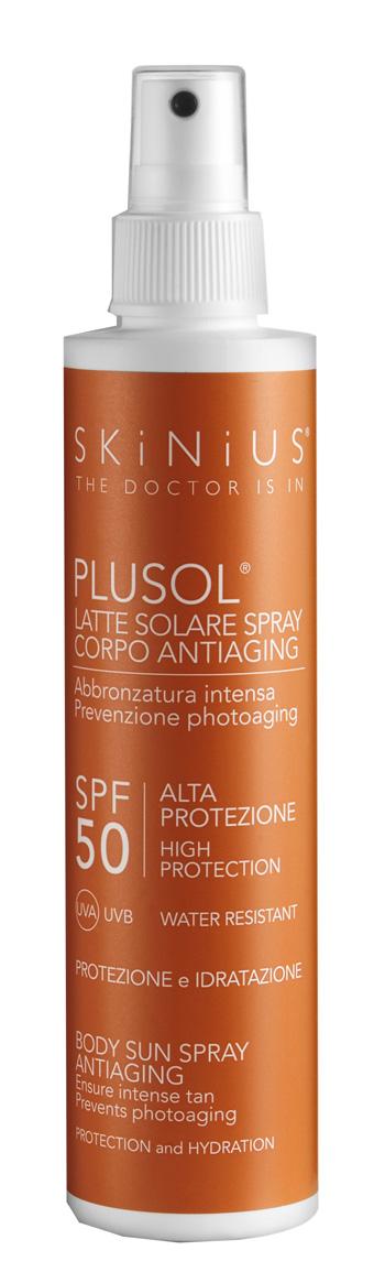 Skinius Plusol Latte Solare SPF 50 100 ml