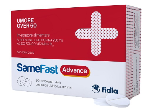 Fidia Farmaceutici Samefast Advance 20 Compresse Orosolubili