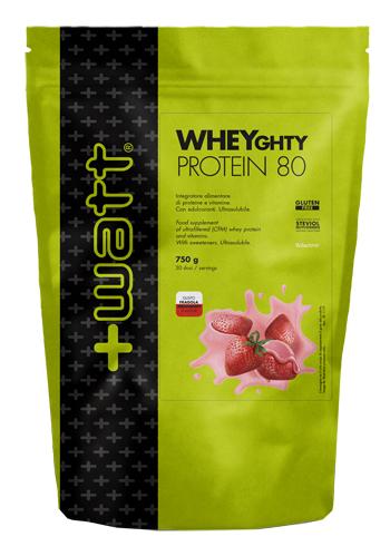 Watt Wheyghty Protein 80 Fragola Doypack 750 G