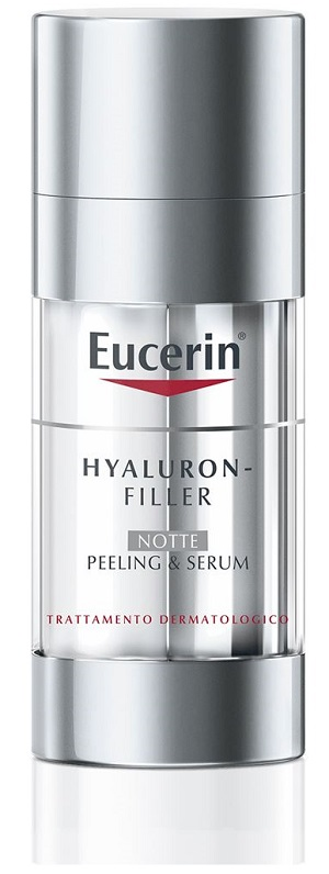 Beiersdorf Eucerin Hyaluron filler Peeling e Serum Notte 30 Ml