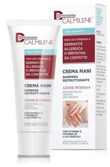 Pasquali Dermovitamina Calmilene Crema Mani Dermatite Allergica Da Contatto 75 M