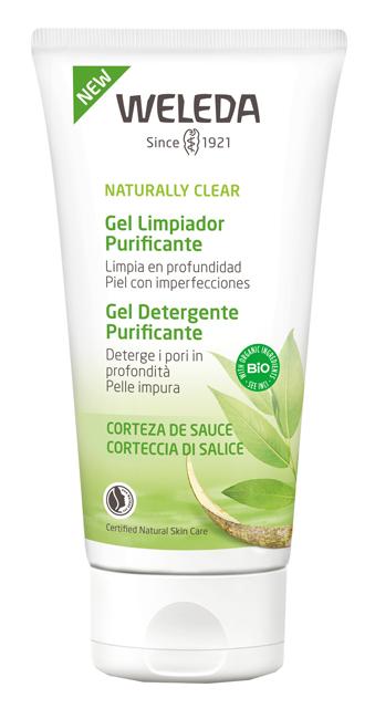 Weleda Linea Naturally Clear Detergente Viso Purificante Bio 100 Ml