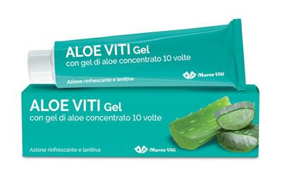 Marco Viti Farmaceutici Viti Aloe Gel 100 Ml