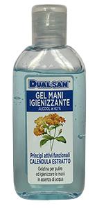 Dualsan Gel Mani Igienizzante Alcool 62% 100 Ml