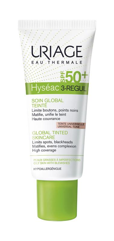 Uriage Laboratoires Dermatolog Hyseac 3-regul Color Spf50+ 40 Ml