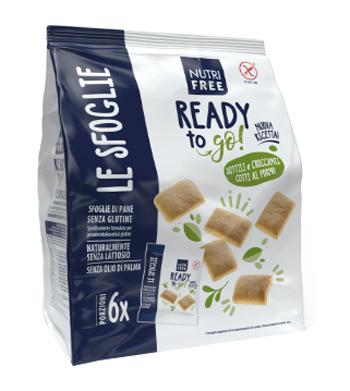Nt Food Nutrifree Pane Sostituti Sfoglie Di Pane Senza Glutine 6x30 G