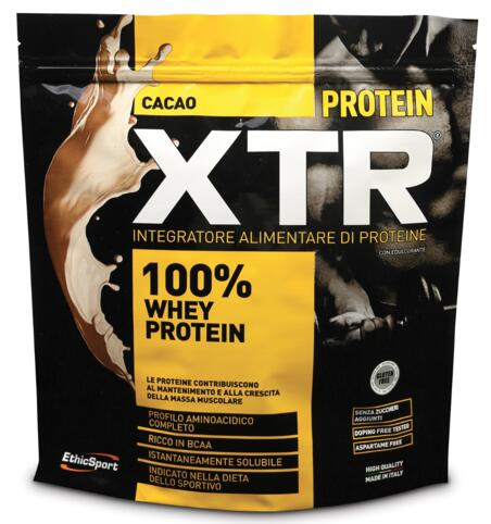 Es Italia  Brand Ethicsport Ethicsport Protein Xtr Cacao 500 G