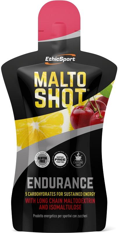 Ethicsport Maltoshot Endurance Ciliegia E Limone 50 Ml