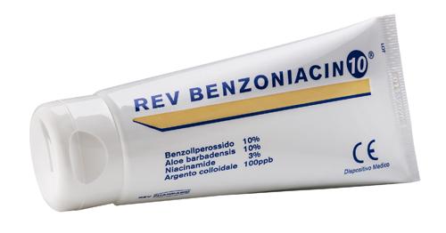 Rev Pharmabio Rev Benzoniacin 10 Crema 100  Ml