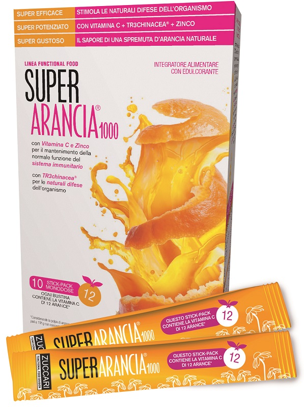 Zuccari Super Arancia 1000 10stick Pac