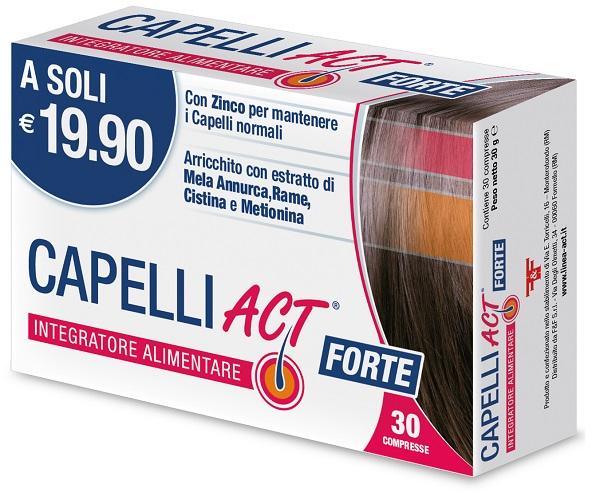 Fef Capelli Act Forte 30 Compresse