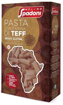 Molino Doni Molino Spadoni Pasta Al Teff Maccheroni 400 G