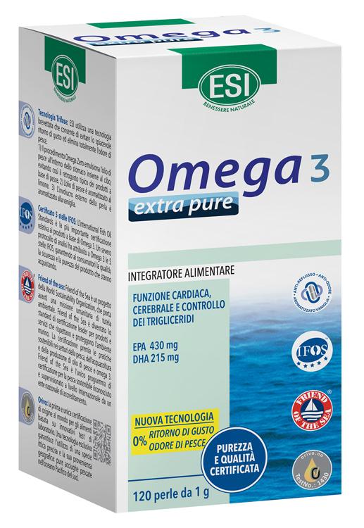 Esi Omega 3 Extra Pure 120 Perle