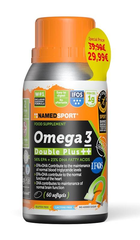 Namedsport Omega 3 Double Plus 60 Softgel Promo