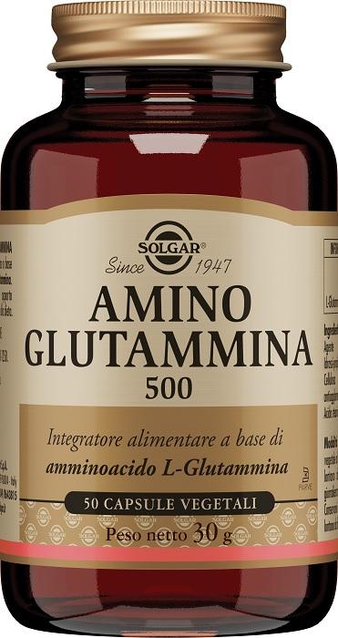 Solgar It. Multinutrient Amino Glutammina 500 50 Capsule Vegetali