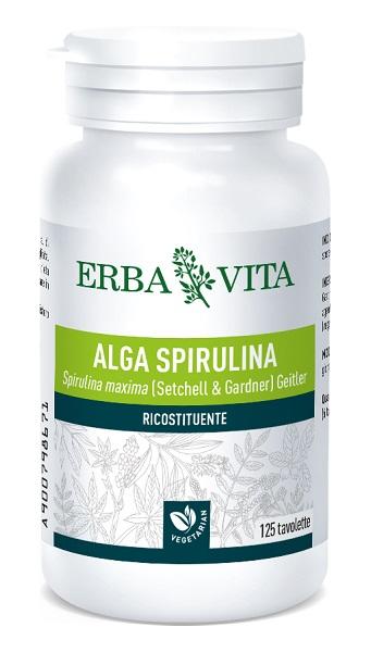 Erba Vita Group Alga Spirulina 125 Tavolette 400 Mg