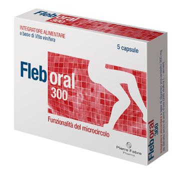 Pierre Fabre Pharma Fleboral 300 5 Capsule