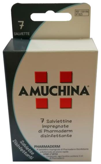 Angelini Amuchina Salviette Disinfettanti 7 Pezzi