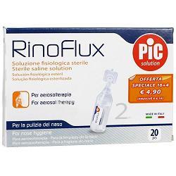 Pikdare Rinoflux Soluzione Fisiologica 20 Fiale 2 Ml