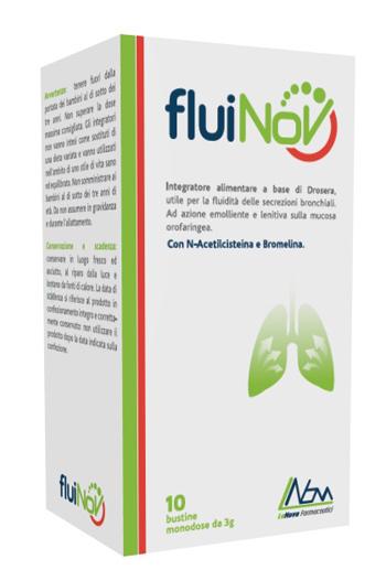 Lanova Farmaceutici Fluinov 10 Bustine
