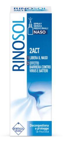 Planta Medica Spray Nasale Rinosol 2act 15 Ml