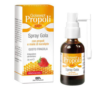 Zeta Farmaceutici Golasept Propoli Baby Spray Gola 30 Ml