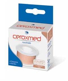 Cerotto In Rocchetto Ceroxmed Aerato In Tessuto Rosa 500x2,50 Cm 1 Pezzo