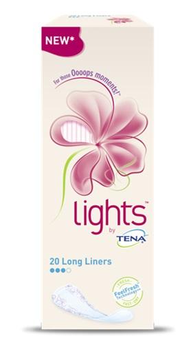 Essity Italy Salvaslip Lungo Lights By Tena Long 20 Pezzi