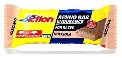 Proaction Amino Bar Endurance Barretta Energetica Alla Nocciola 40 G