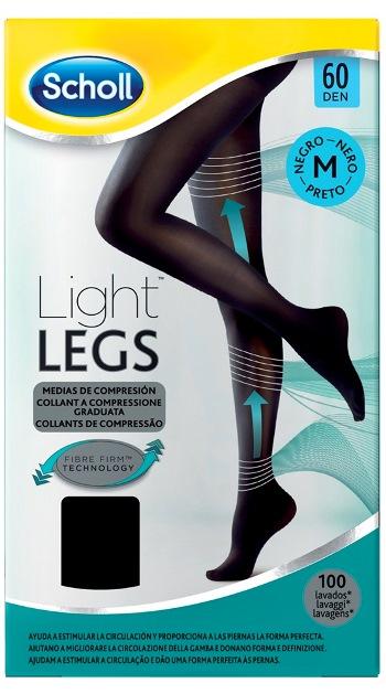 Scholl Lightlegs 60 Denari Taglia M Colore Nero 1 Paio